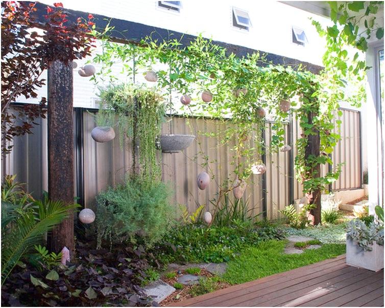 desain taman depan rumah minimalis sederhana terbaru