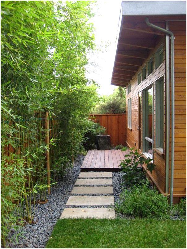 desain taman minimalis belakang rumah sederhana modern lahan sempit terbaru
