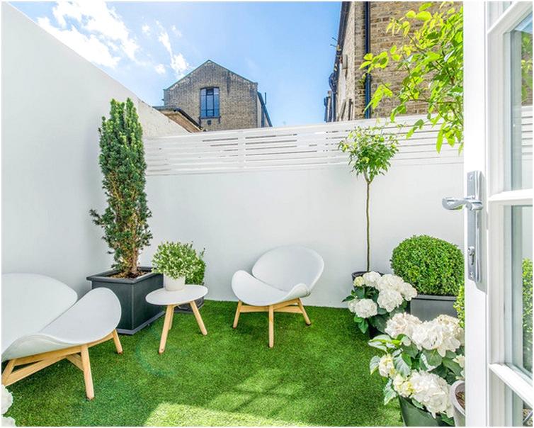 desain taman minimalis belakang rumah sederhana modern terbaru