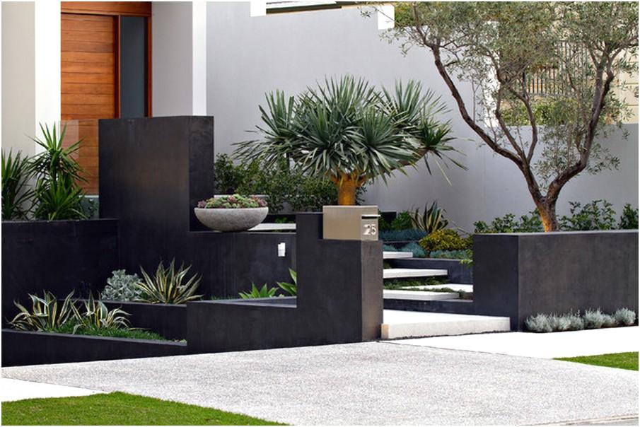 desain taman rumah minimalis lahan sempit modern terbaru