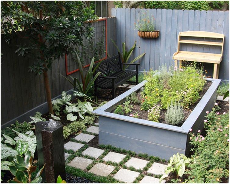 desain taman rumah minimalis lahan sempit terbaru
