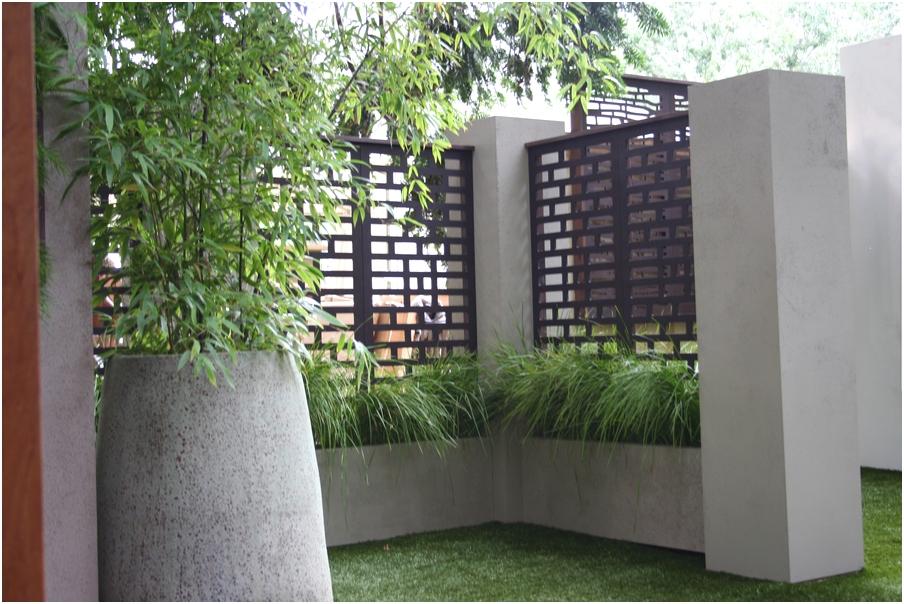 desain tembok pagar rumah minimalis mewah modern klasik elegan nyaman mempesona terbaru
