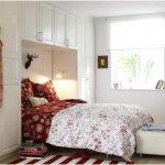 ide desain kamar tidur kecil minimalis sederhana mewah menawan modern putih terbaru