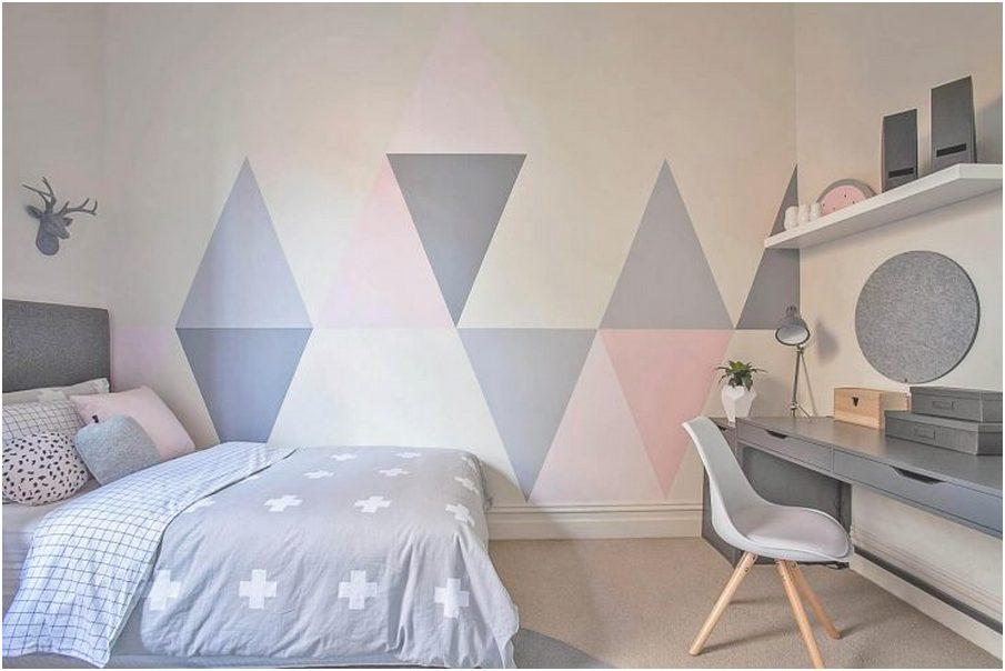 ide desain kamar tidur kecil minimalis sederhana modern elegant putih abu abu terbaru
