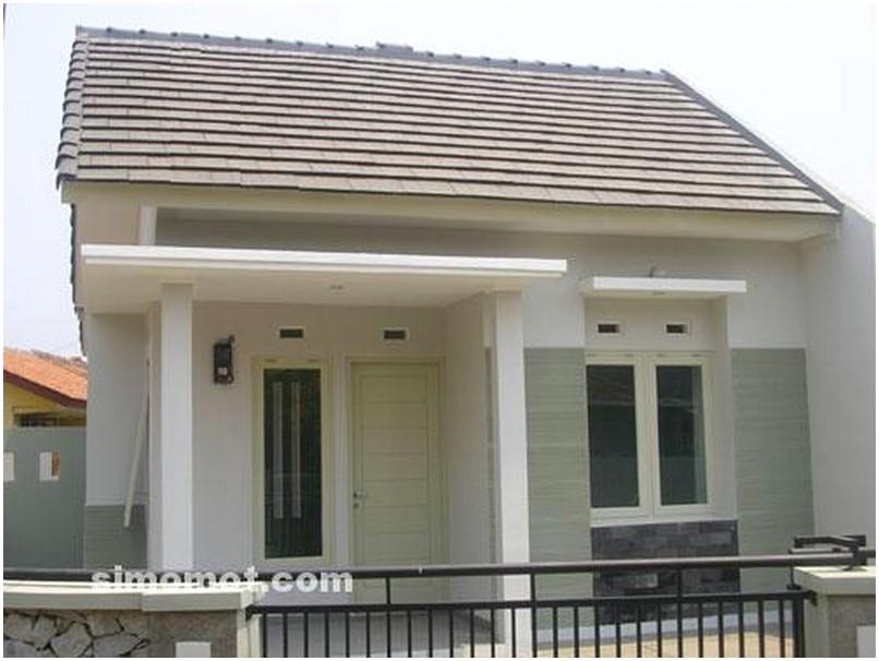 Ide mempesona Model desain rumah minimalis 1 lantai mewah nyaman elegan warna putih tampak depan