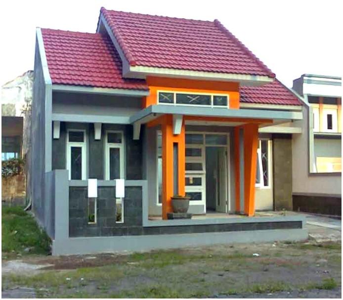 Ide Model desain rumah minimalis 1 lantai mewah nyaman elegan kokoh tren masa kini terbaru