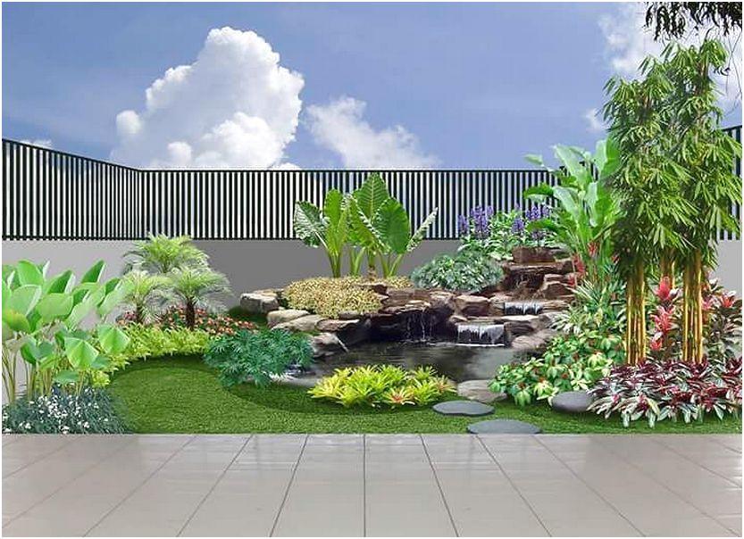 ide terbaru taman rumah lahan sempit minimalis