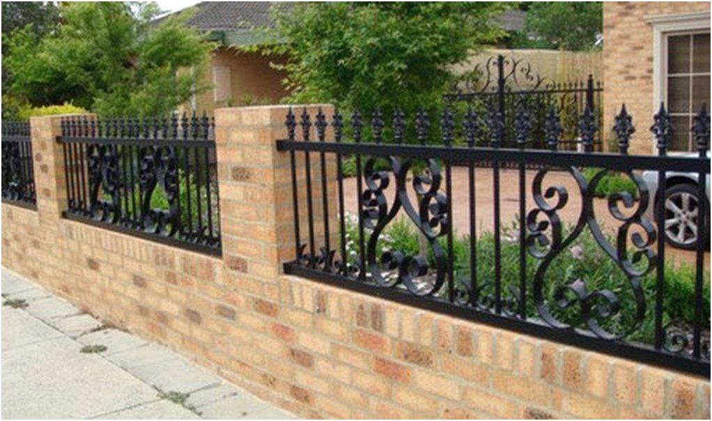 istimewa desain pagar rumah minimalis mewah klasik nyaman terbaru