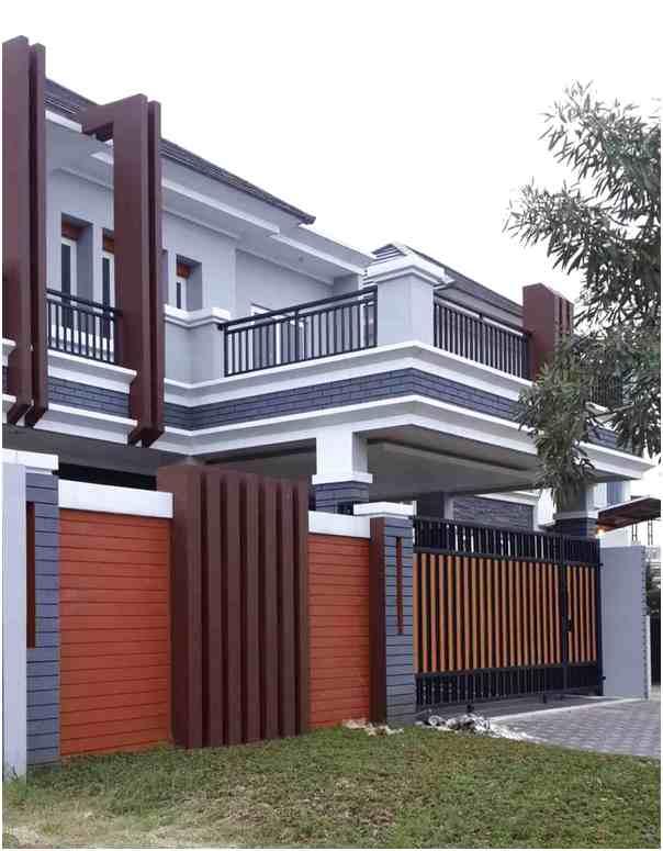 konsep desain pagar rumah minimalis mewah klasik terbaru