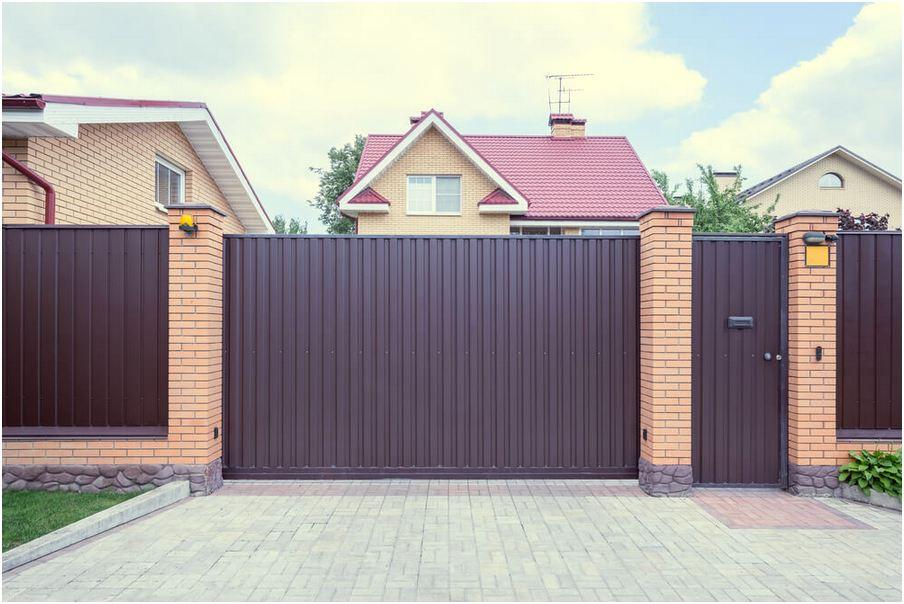 konsep desain pagar rumah minimalis mewah modern terbaru