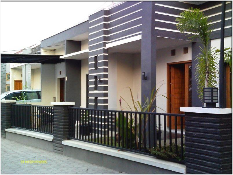 luar biasa desain pagar rumah minimalis mewah modern elegan terbaru