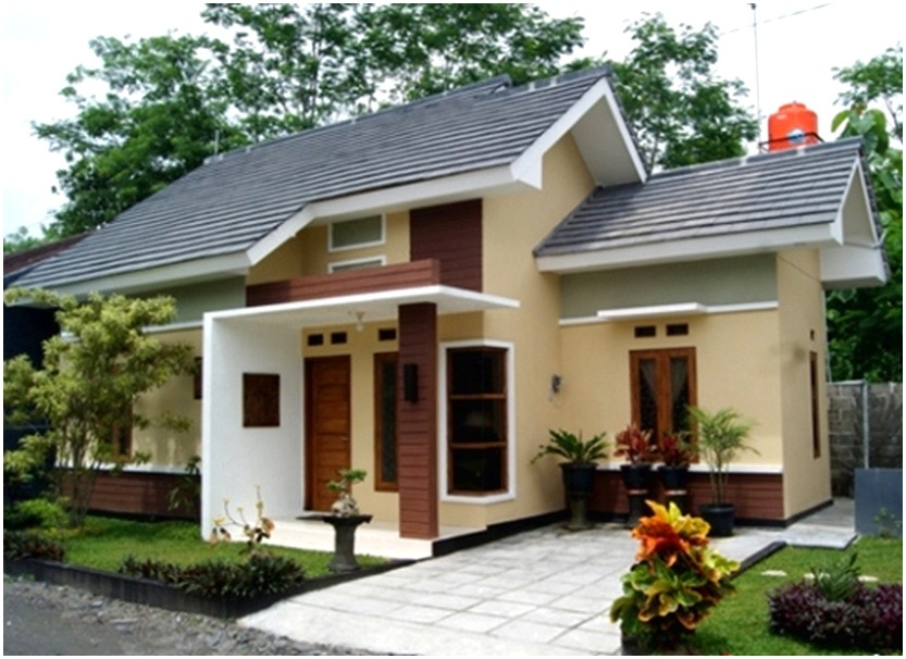 Luar biasa model desain rumah minimalis 1 lantai mewah nyaman elegan modern masa kini tampak depan