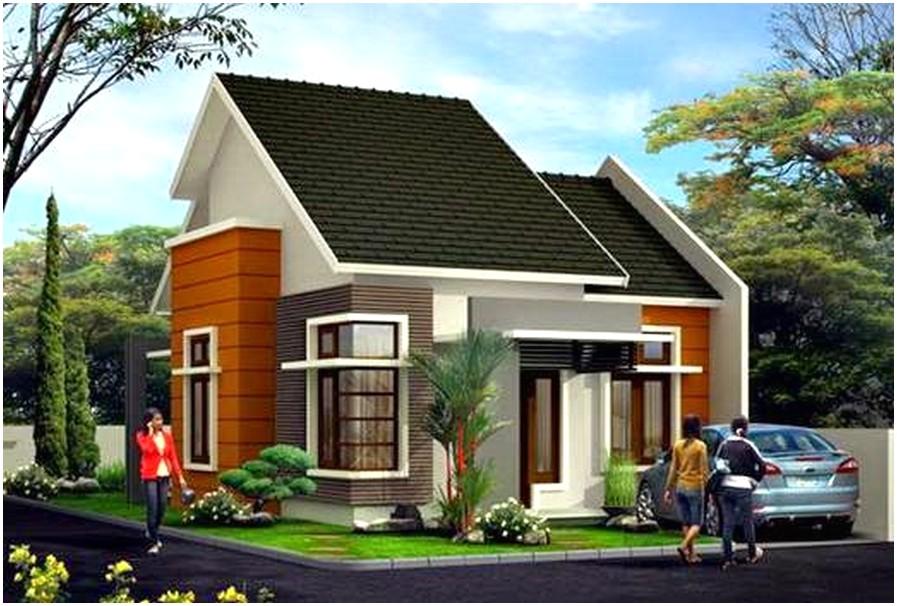 Mempesona model desain rumah minimalis 1 lantai mewah nyaman elegan modern tampak depan