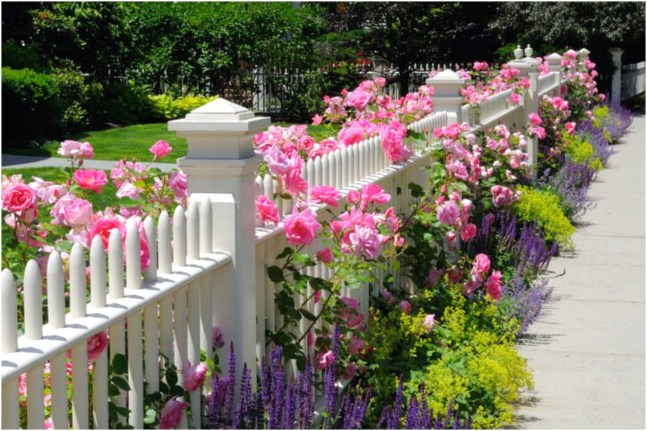 model desain pagar rumah minimalis besi putih mewah modern type 36 terbaru