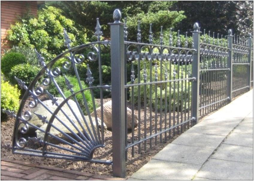 model desain pagar rumah minimalis metal besi mewah modern elegan terbaru