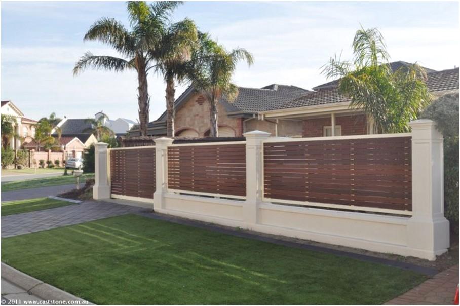 model desain pagar rumah minimalis modern mewah klasik terbaru