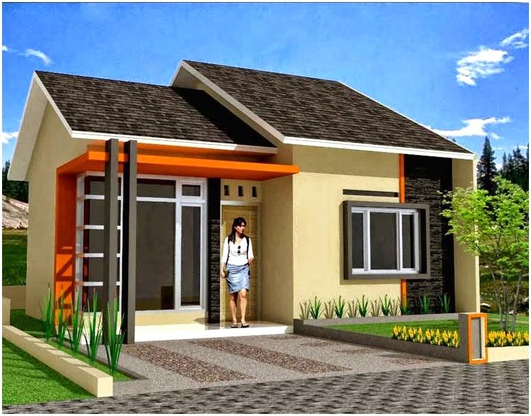 Model desain rumah minimalis 1 lantai mewah nyaman elegan asri dan stylis tampak depan terbaik