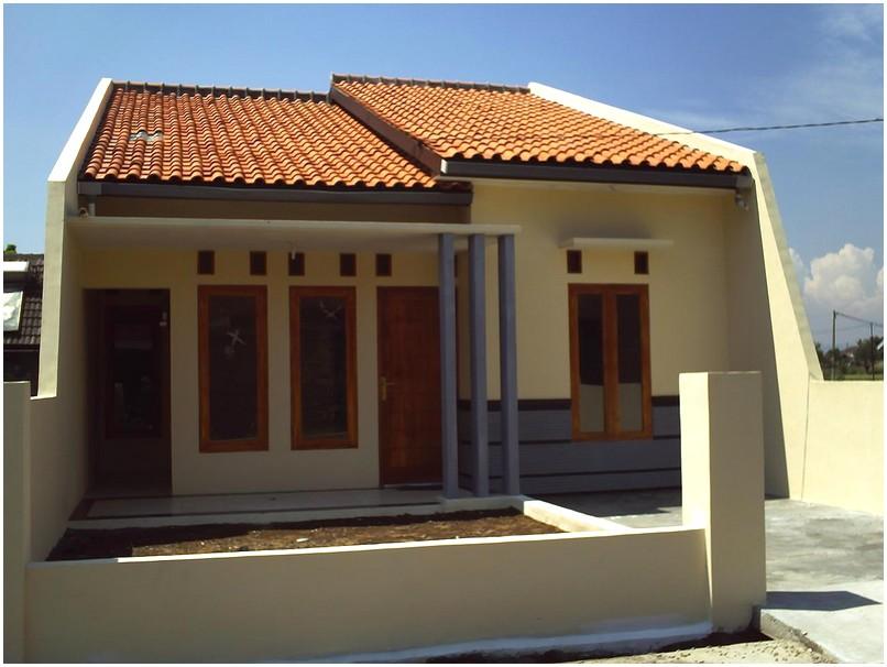 Model desain rumah minimalis 1 lantai mewah nyaman elegan modern tren masa kini tampak depan