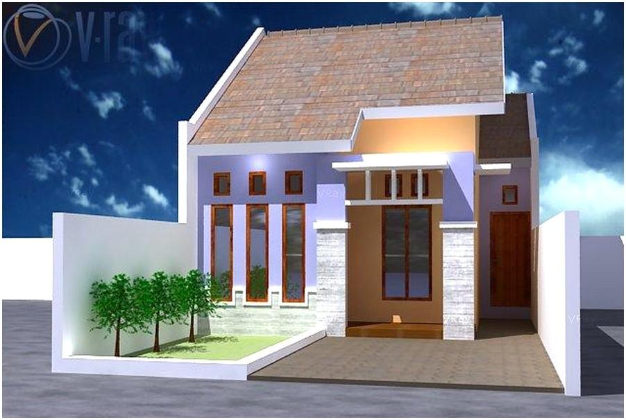 Model desain rumah minimalis 1 lantai tampak depan elegan terbaru
