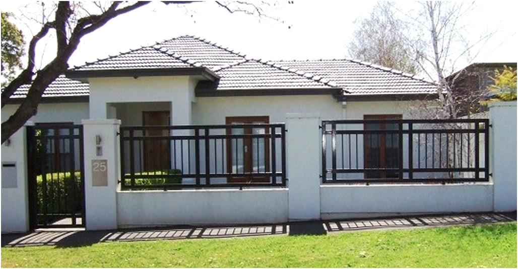 pagar rumah minimalis mewah modern nyaman elegan type 36 terbaru