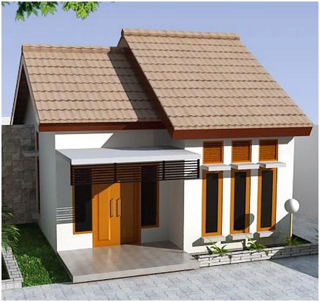 Terbaik model desain rumah minimalis mungil 1 lantai mewah nyaman elegan terbaik tampak depan