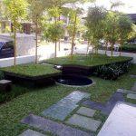 Contoh Taman Minimalis Depan Rumah Yang Indah