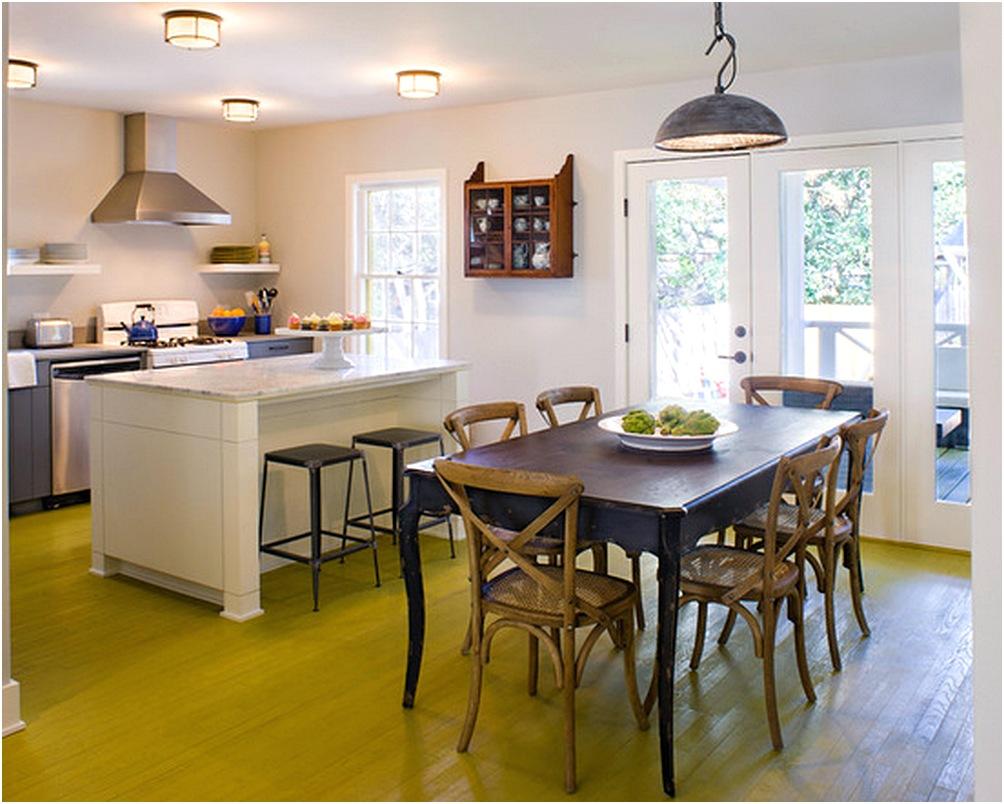 Dapur Dan Ruang Makan Minimalis Jadi Satu