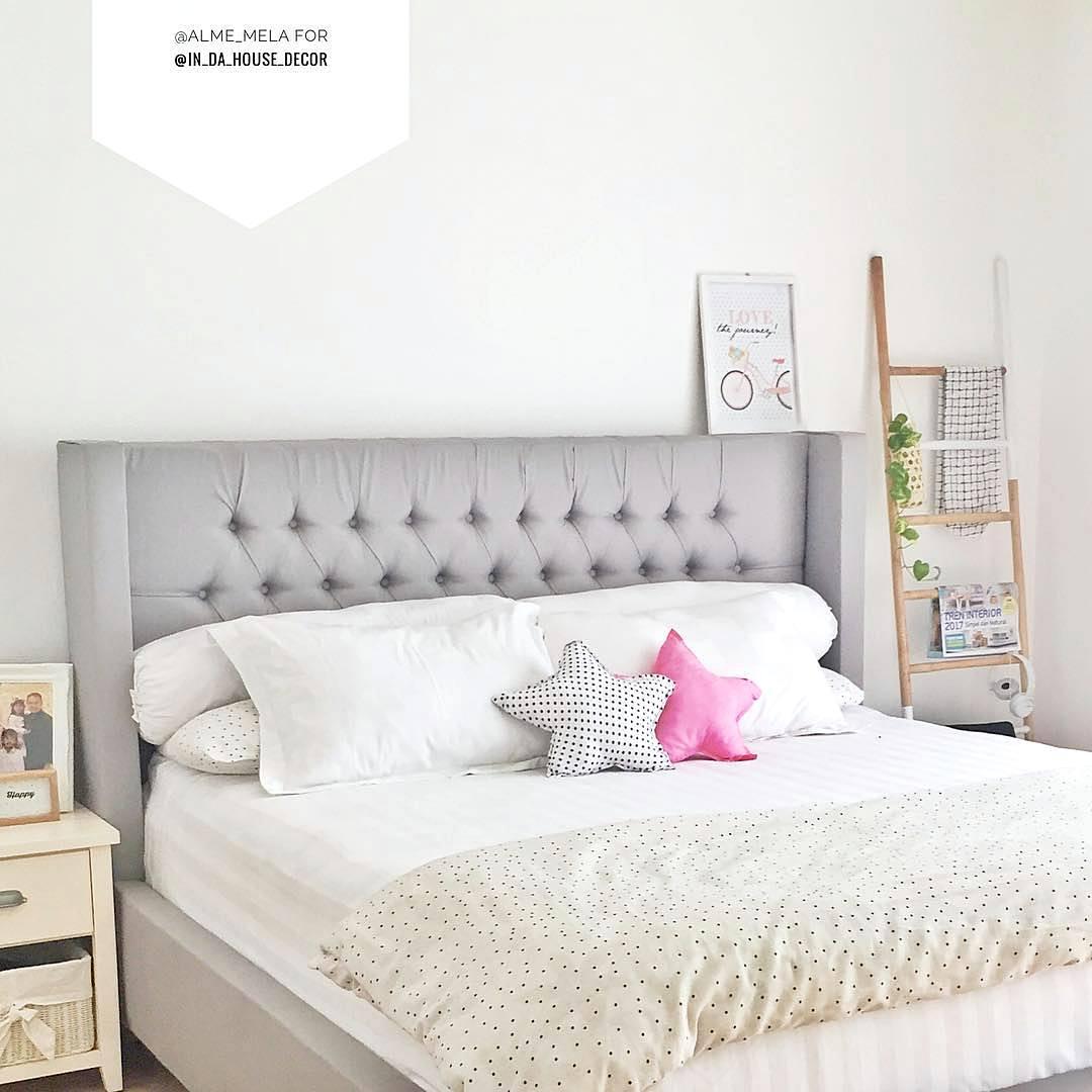 Dekorasi Dinding Kamar Tidur Minimalis 3x3 Simple Keren