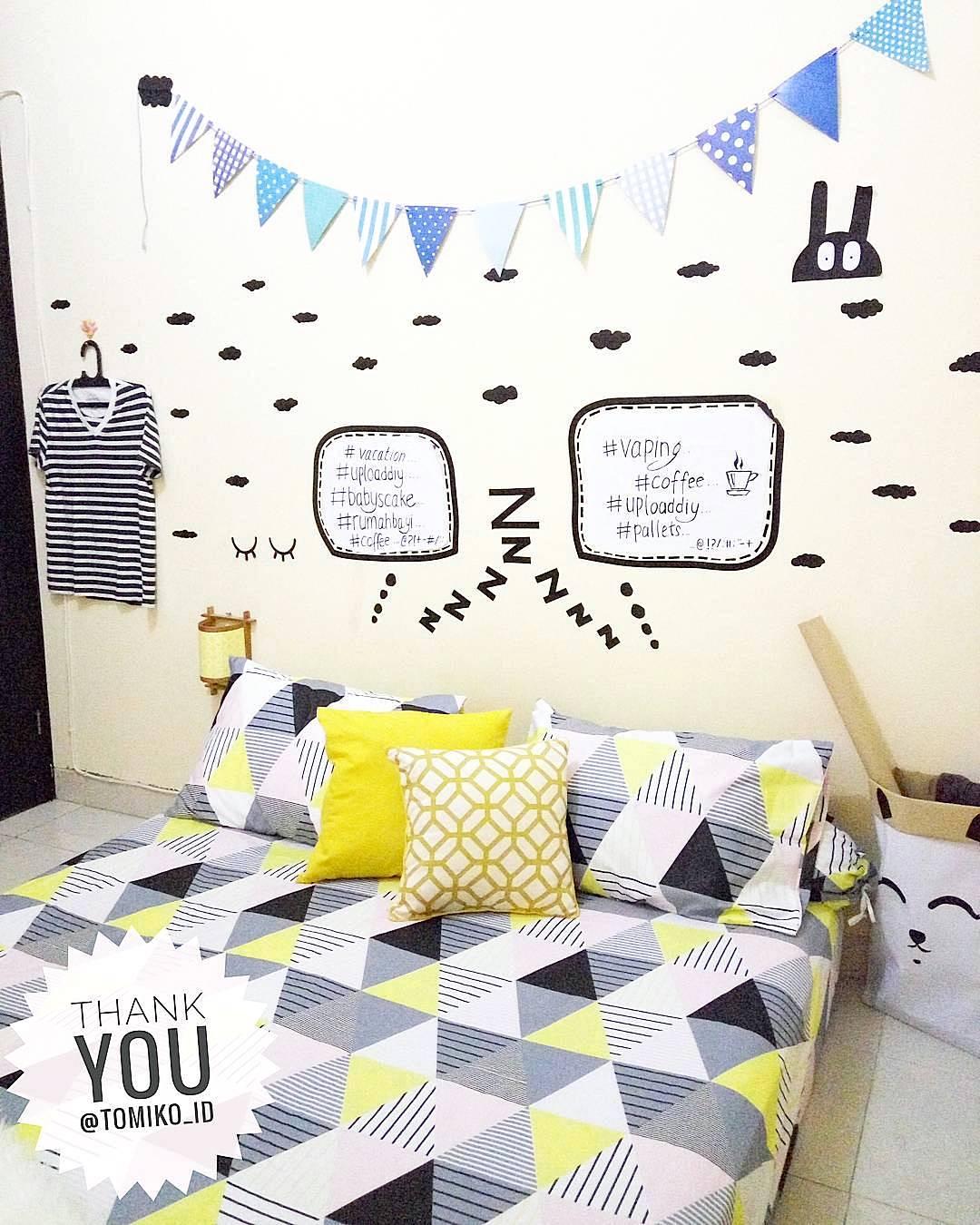 Dekorasi Dinding Kamar Tidur Terbaru Lagi Ngetren