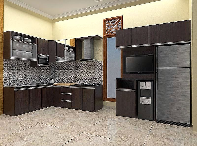 Desain Kitchen Set 2017