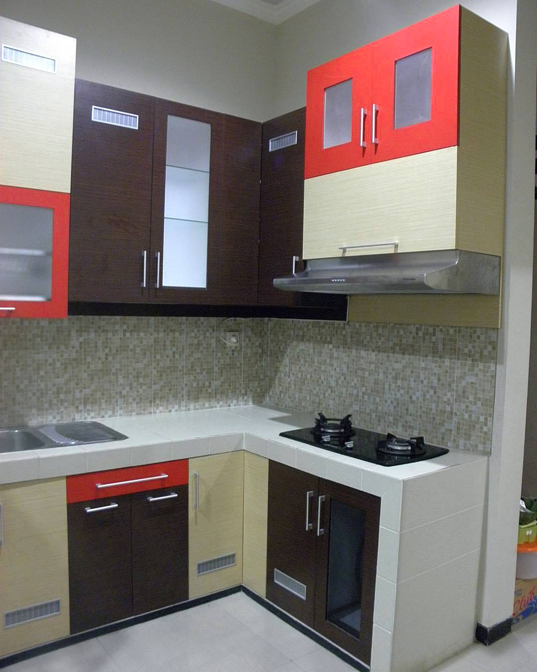 95 kitchen set minimalis sederhana modern terbaru dekor for Desain kitchen