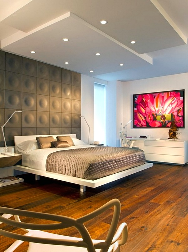 Desain Model Plafon Kamar Tidur Terbaru Elegan Kecil Gypsum