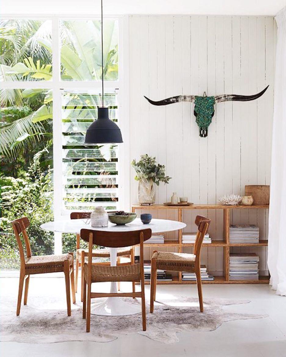 Desain Modern Ruang Makan Minimalis Modern Menyatu Dengan Ruang Keluarga