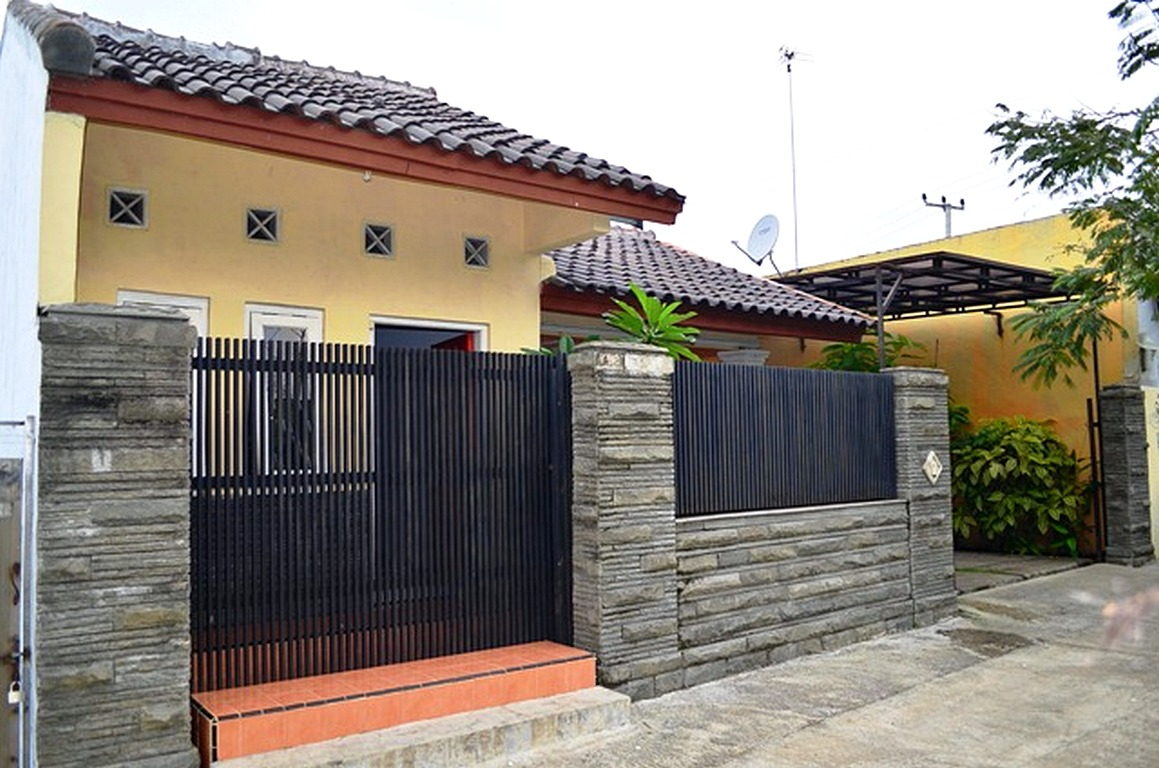 Desain Pagar Rumah Batu Bata - Jual Bata Ekspos