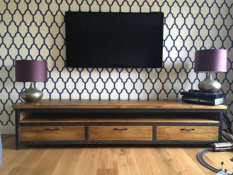 Desain Rak Tv Minimalis Unik Modern Terbaru