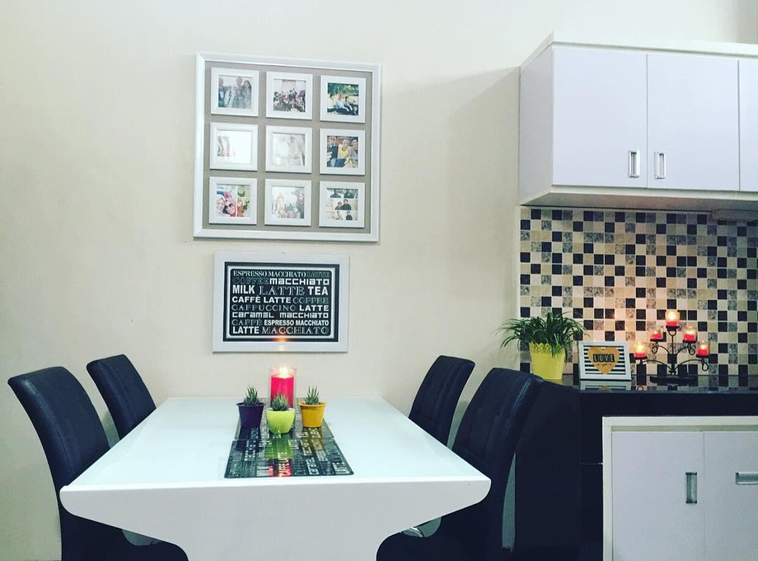 Desain Ruang Makan Minimalis Menyatu Dengan Dapur Kecil Lagi Ngetren