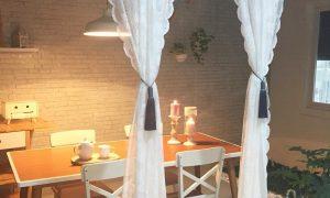 Desain Ruang Makan Minimalis Modern Menyatu Dengan Ruang Keluarga Yang Romantis