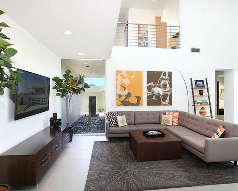 Desain Sofa Ruang Tamu Minimalis Mungil Kecil Unik