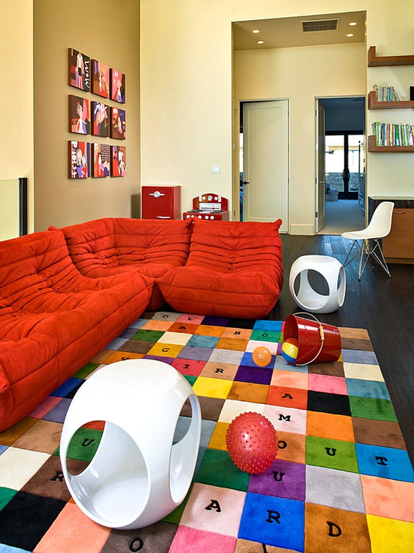 Desain Sofa Unik Ruang Tamu Minimalis Terbaru