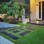 Desain Taman Minimalis Depan Rumah Keren Abis