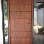 Desain baru pintu utama rumah minimalis