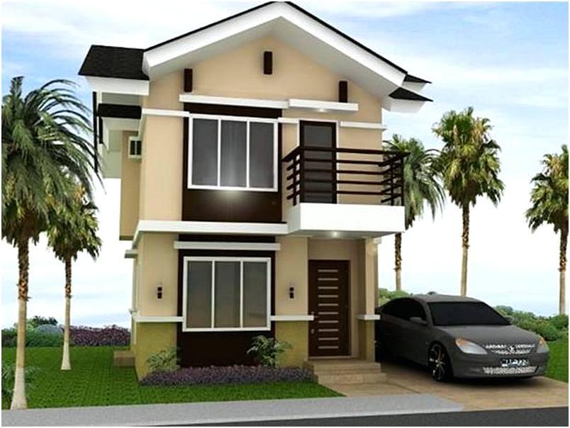 25 Model Rumah Minimalis 2 Lantai Terbaru on 3d House Plan Design Modern Home Minimalist