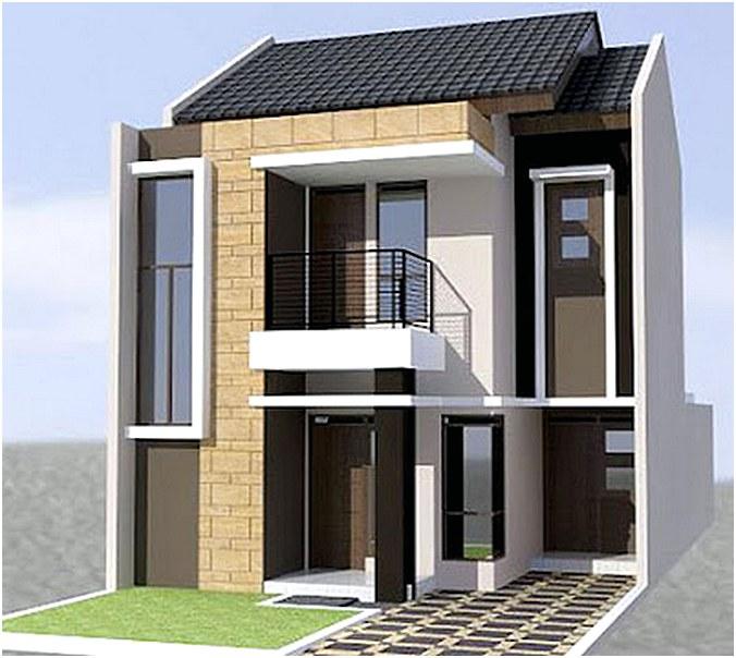 Desain Rumah Minimalis 2 Lantai Modern Mewah Sederhana Unik Terbaru