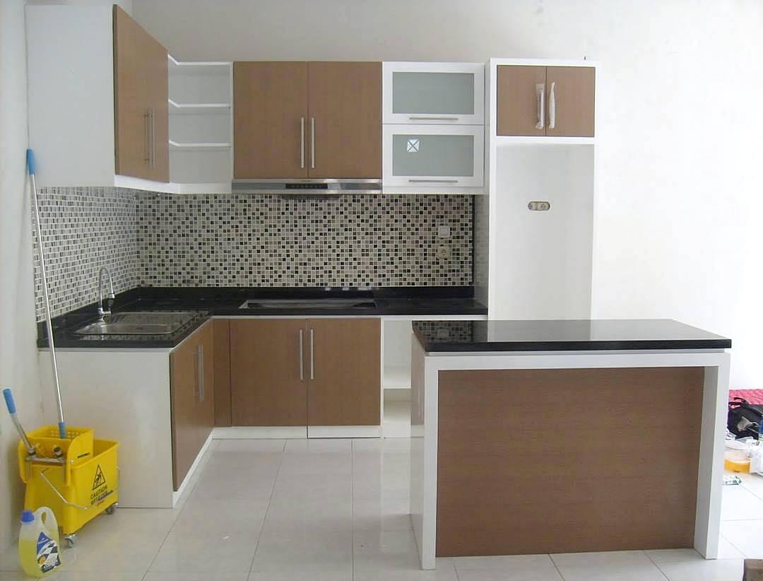 Gambar Kitchen Set Kecil Keren
