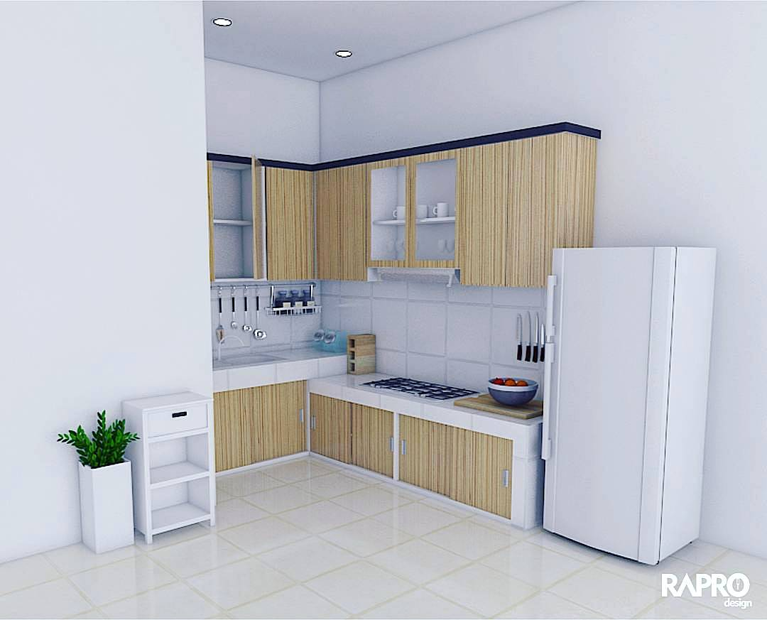 95 kitchen set minimalis sederhana modern terbaru dekor for Harga kitchen set minimalis per meter