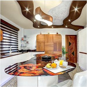 32 desain dapur dan ruang makan sempit sederhana terbaru