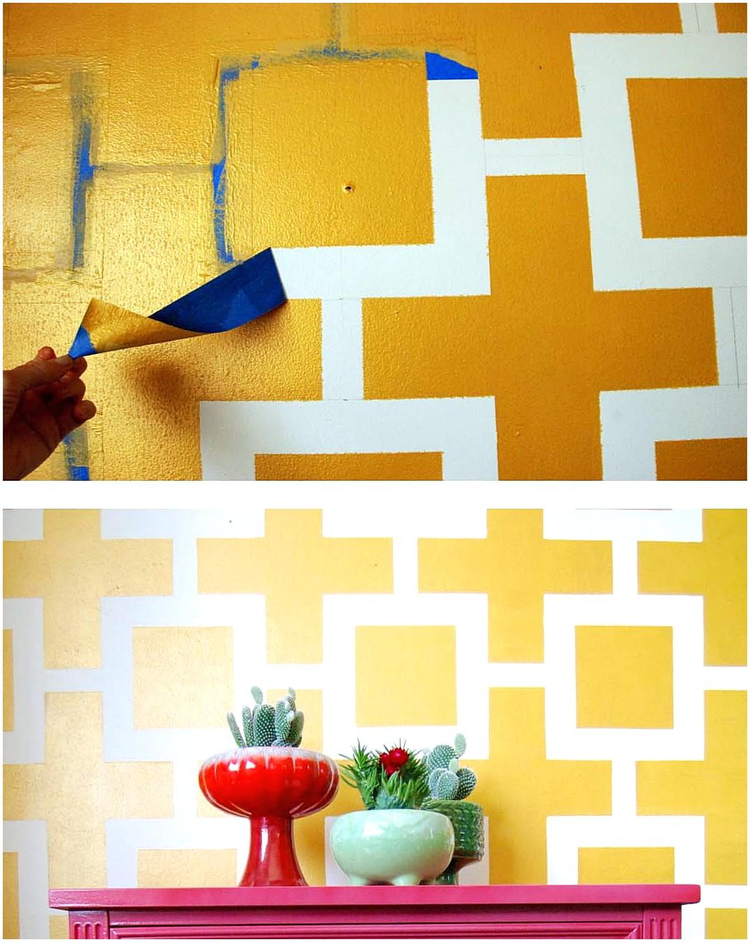 Hiasan Dinding Wallpaper Kamar Buatan Sendiri Minimalis
