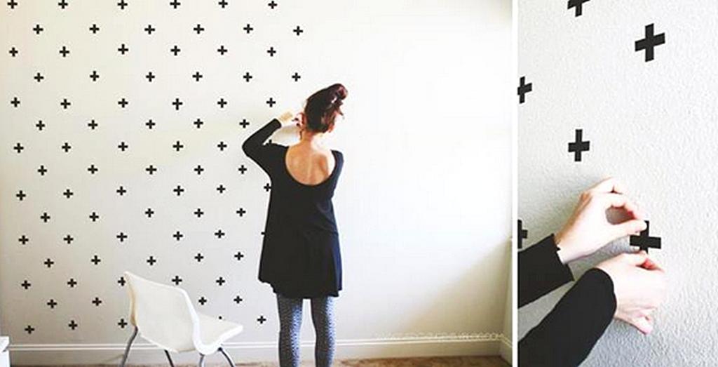 ... Membuat Hiasan Dinding Kamar Buatan Sendiri Dengan Wallpaper Dinding