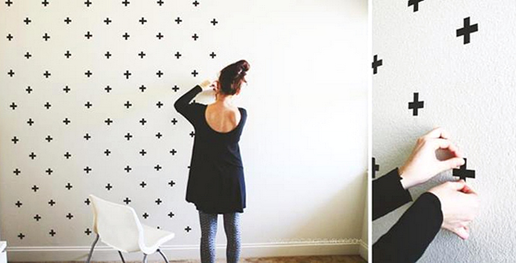 Hiasan Dinding Wallpaper Kamar Buatan Sendiri
