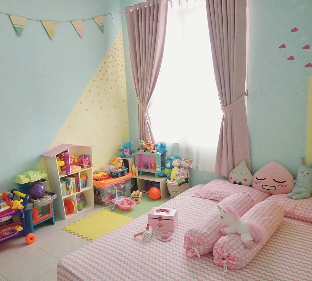 Ide Dekorasi Dinding Kamar Anak Perempuan Cewek